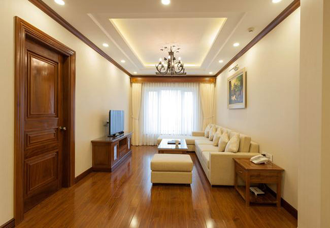 Luxurious apartment in Truc Bach street, gym inside