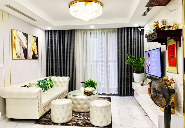 Luxury apartment for rent in Park 5 building Times City