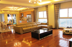 Luxury apartment for rent in Vuon Dao Building,Tay Ho district