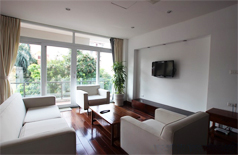 Luxury apartment for rent in Hanoi with big balcony