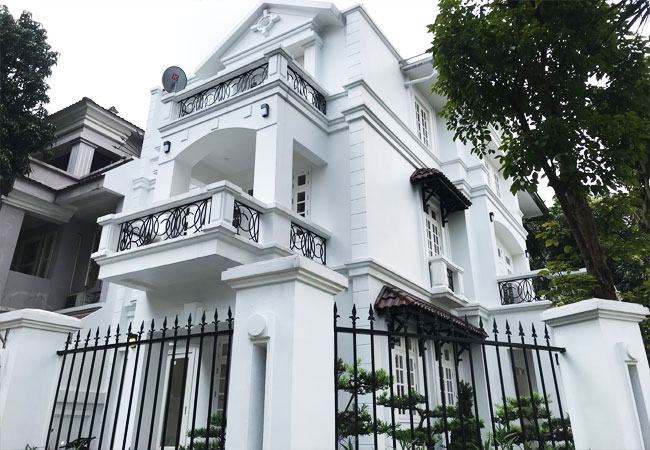 Luxury unfurnished villa for rent in Ciputra Hanoi