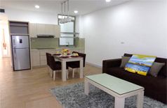 Modern apartment for rent in Truc Bach area, lake view