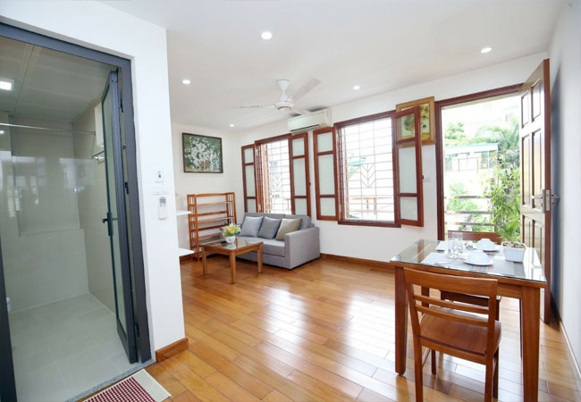 New apartment for rent in Van Phuc street, Ba Dinh district