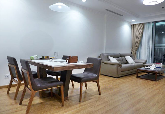 New fully furnished apartment in Vinhomes Nguyen Chi Thanh