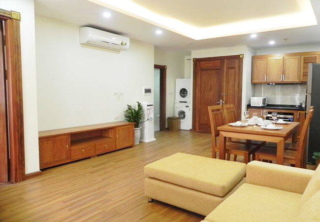 New serviced apartment for rent in Pham Ngoc Thach, near Thai Ha