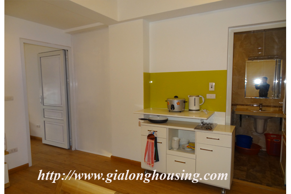 New serviced apartment in Lang ha Street,Hanoi for rent 3