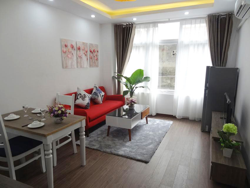 New serviced apartment in Linh Lang for rent