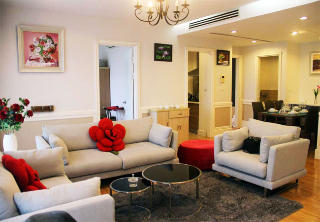 Nice 03 bedroom apartment for rent in Golden Westlake hanoi