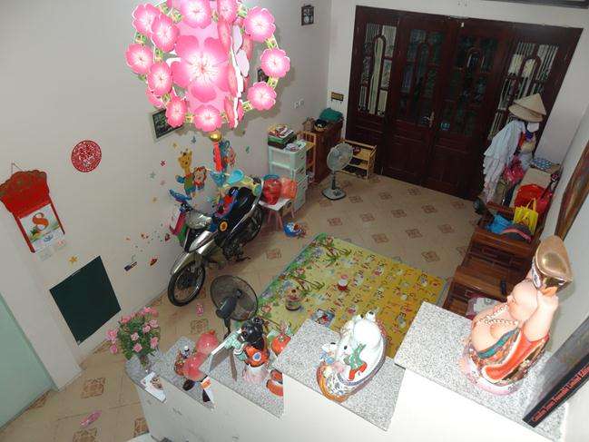 Nice and cozy house in Hao Nam, Dong Da district for rent