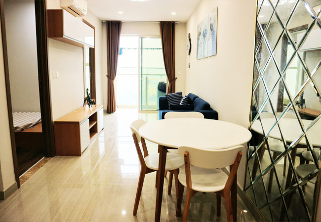Nice furnished apartment for rent in L4 building, Ciputra
