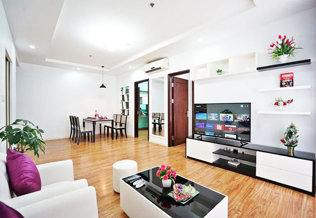 Nice furnished apartment for rent in Times City