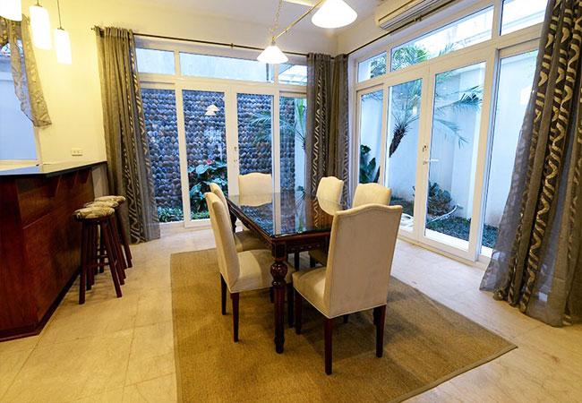 Nice furnished villa for rent in Block T4 Ciputra Hanoi