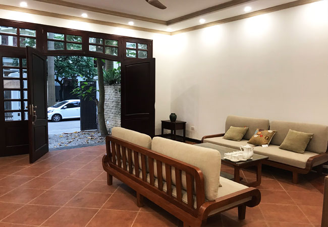 Nicely furnished villa Ciputra for rent with 6 bedrooms, C Block