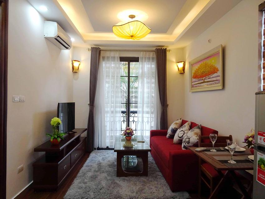 One bedroom apartment in lane 12, Dao Tan street for rent