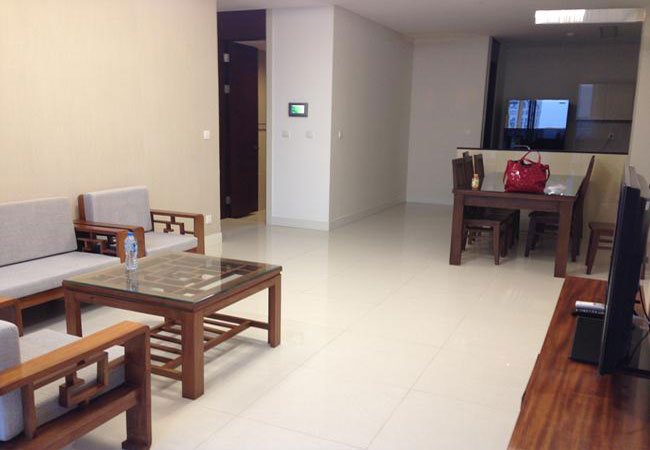 Partially furnished apartment for rent in Keangnam Landmark