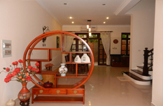 Partly furnished villa for rent in Ciputra