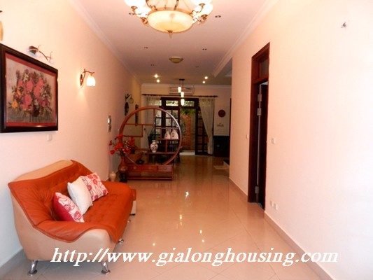Partly furnished villa for rent in Ciputra 1