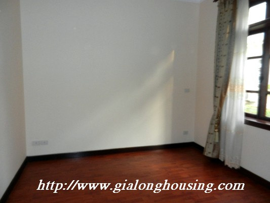 Partly furnished villa for rent in Ciputra 12