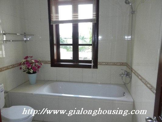 Partly furnished villa for rent in Ciputra 14