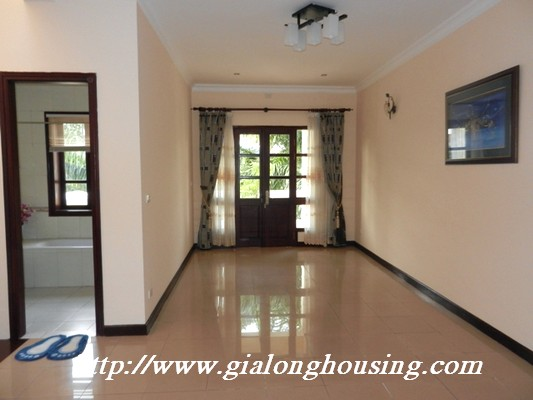 Partly furnished villa for rent in Ciputra 15