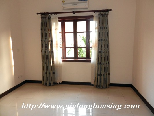 Partly furnished villa for rent in Ciputra 17