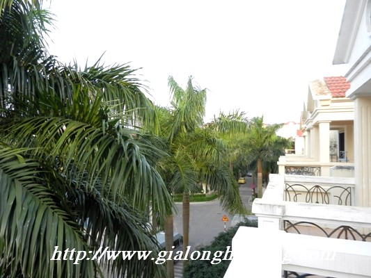 Partly furnished villa for rent in Ciputra 20