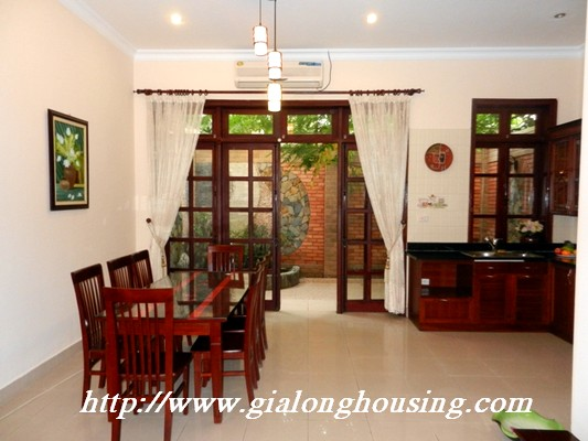 Partly furnished villa for rent in Ciputra 3