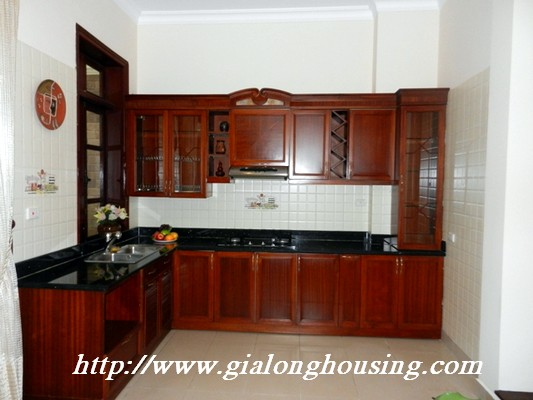 Partly furnished villa for rent in Ciputra 4