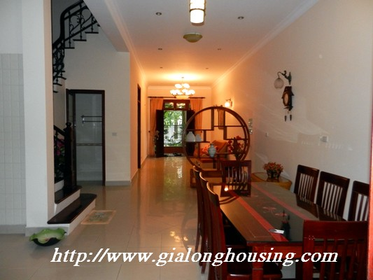 Partly furnished villa for rent in Ciputra 6