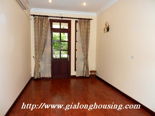 Partly furnished villa for rent in Ciputra 7