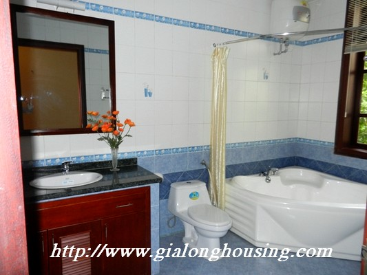 Partly furnished villa for rent in Ciputra 8