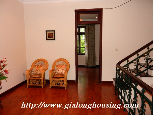 Partly furnished villa for rent in Ciputra 9