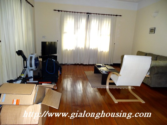 Partly house for rent in Nghi Tam Village 10