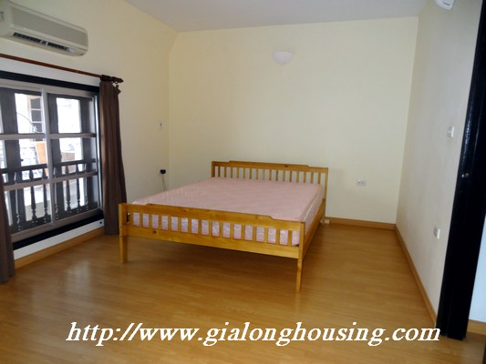 Partly house for rent in Nghi Tam Village 13