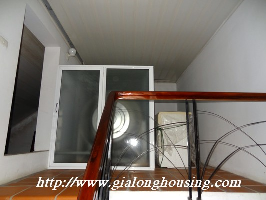 Partly house for rent in Nghi Tam Village 17