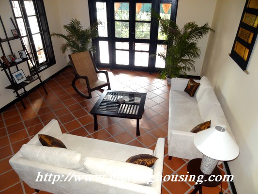 Partly house for rent in Nghi Tam Village 18