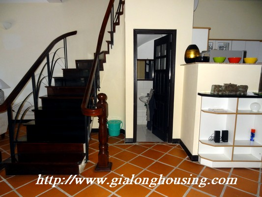 Partly house for rent in Nghi Tam Village 19