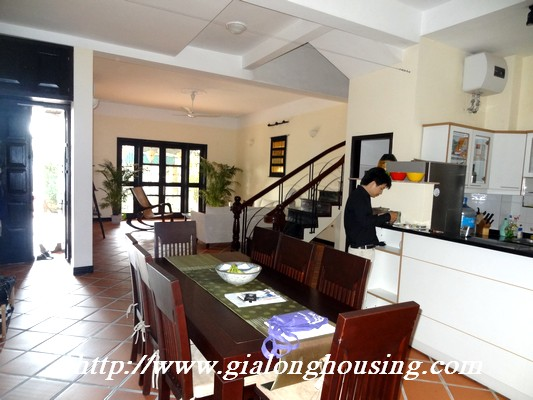 Partly house for rent in Nghi Tam Village 20