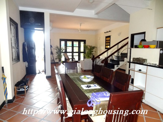 Partly house for rent in Nghi Tam Village 6