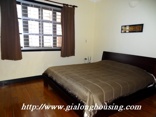 Partly house for rent in Nghi Tam Village 7