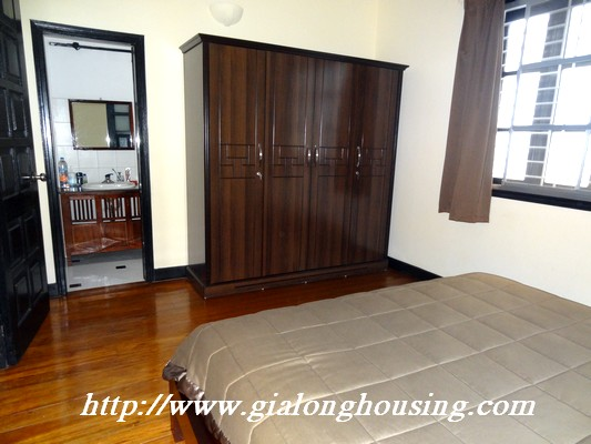 Partly house for rent in Nghi Tam Village 9
