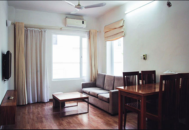 Serviced apartment in lane 12 Dao Tan for rent