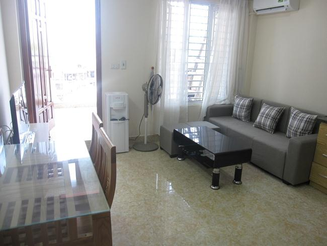 Serviced apartment in Quan Ngua for rent