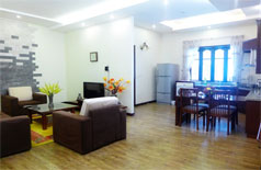 Serviced apartment with city view in Tran Te Xuong