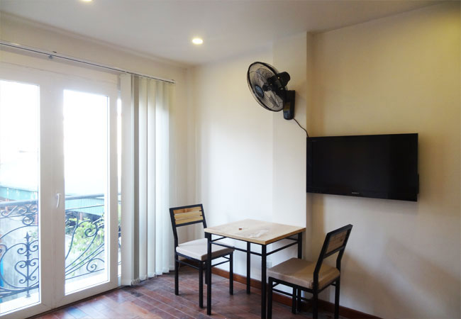 Serviced one bedroom apartment in Ham Long for rent