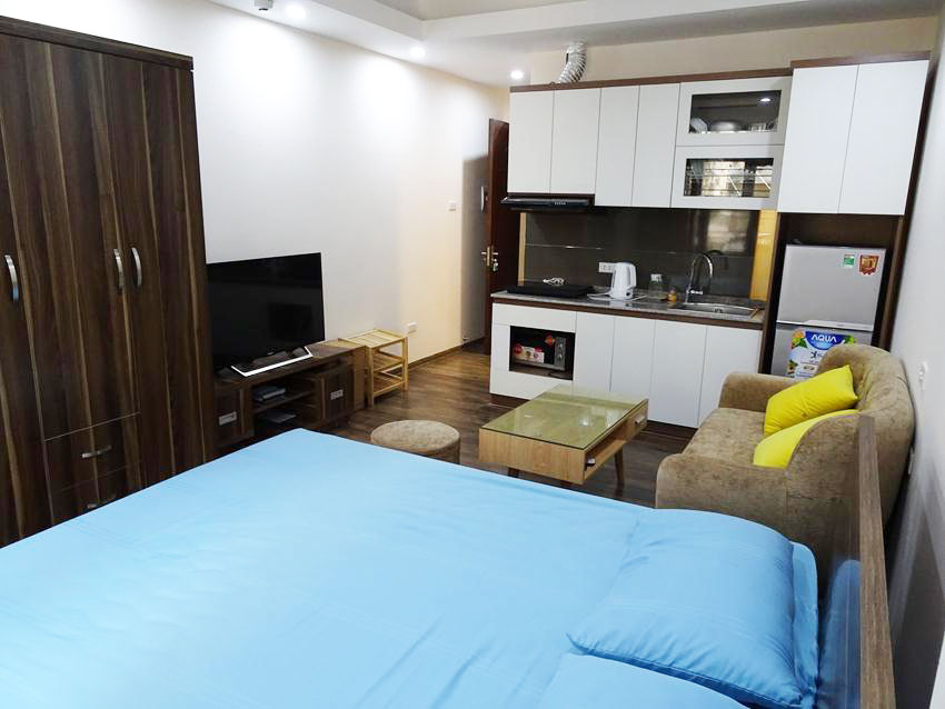 Small studio in Huynh Thuc Khang for rent