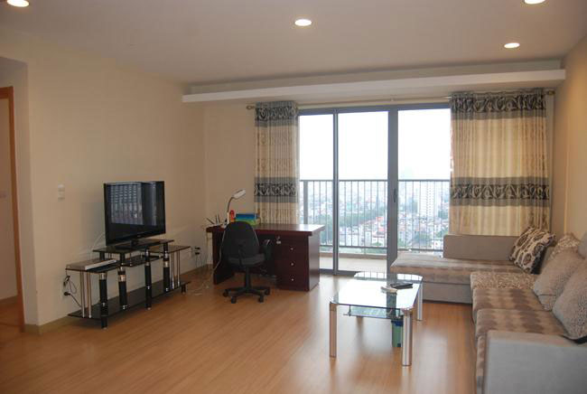 Spacious apartment in high floor of Sky City 88 Lang Ha