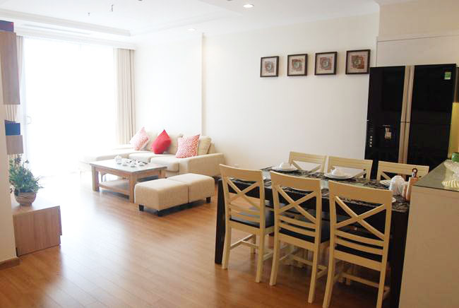 Spacious brand new apartment with 3 bedrooms in Vinhomes