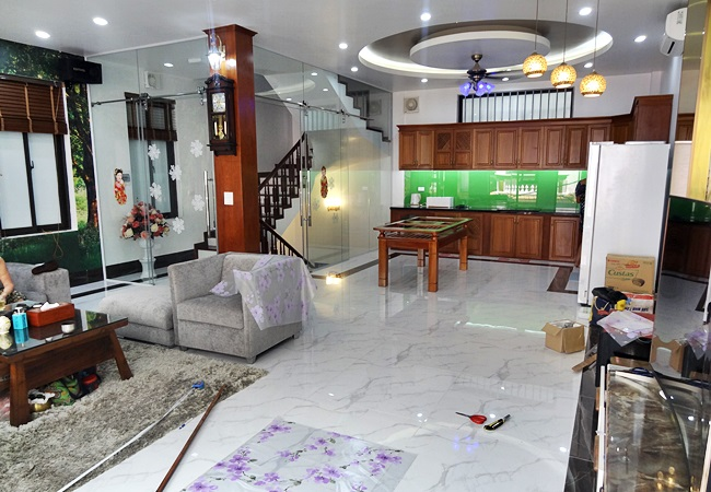 Spacious house for rent in lane of To Ngoc Van street