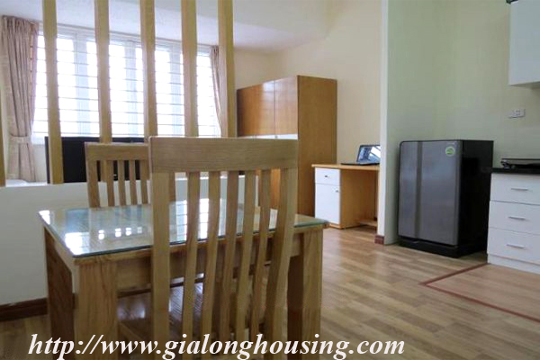 Studio apartment for rent in Lang Ha street,Dong Da district 1